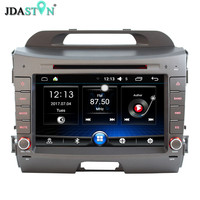 JDASTON 8 Inch 2 Din Android 6 0 Car DVD Player For KIA Sportage 3 2010