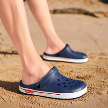 Hole Water Shoes For Men Beach Sandals Aqua Slippers Breathable Light Outdoor Summer Swimming Sea Fishing Casual
