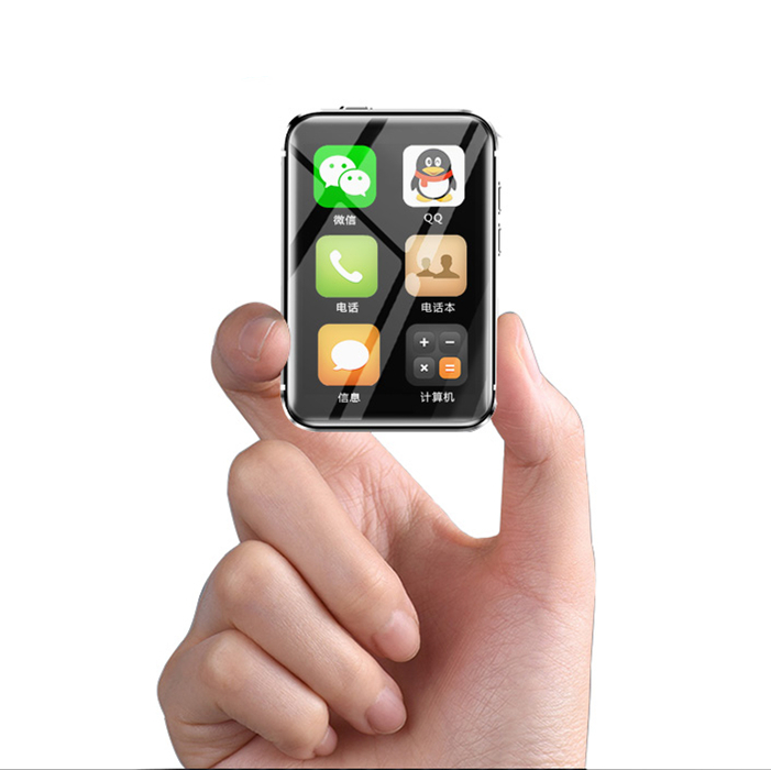 Montre Mobile téléphone AEKU i5 Plus MTK2502C MP3 MP4 écran capacitif multilingue multifonction Mini téléphone étudiants téléphone portable