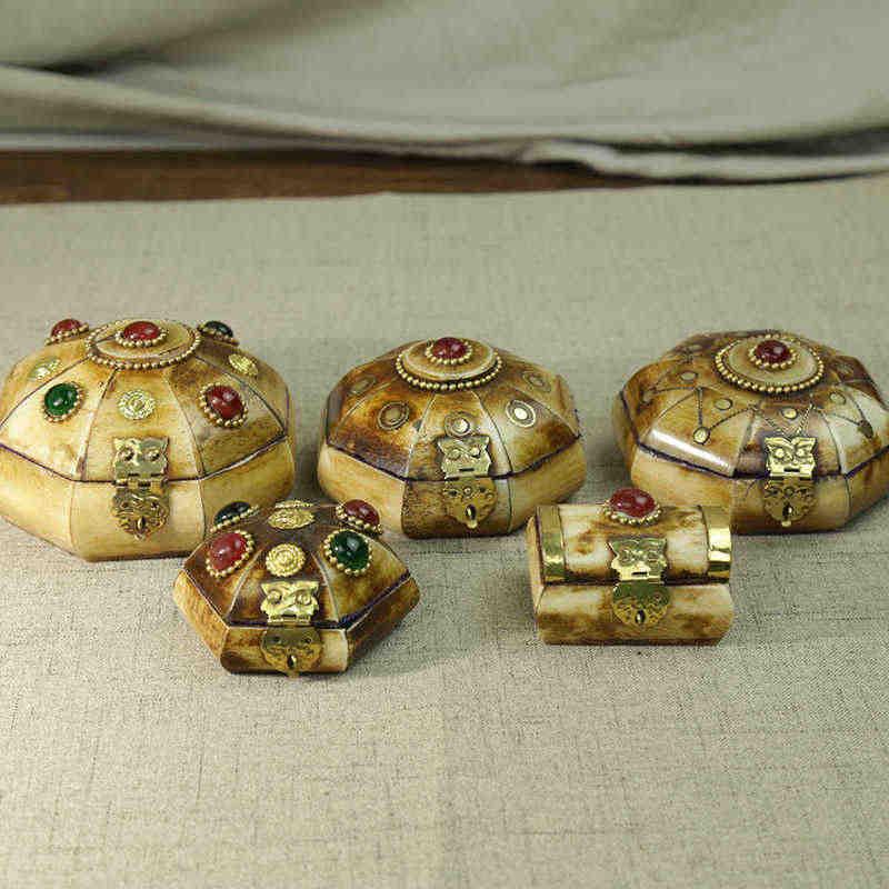 Tjb991 Antiqued Tibetan Yak Bone Lovely Jewelry Boxes Nepal Vintage Crafts Jewelry Box Jewelry Vintage Boxesvintage Jewelry Box Aliexpress