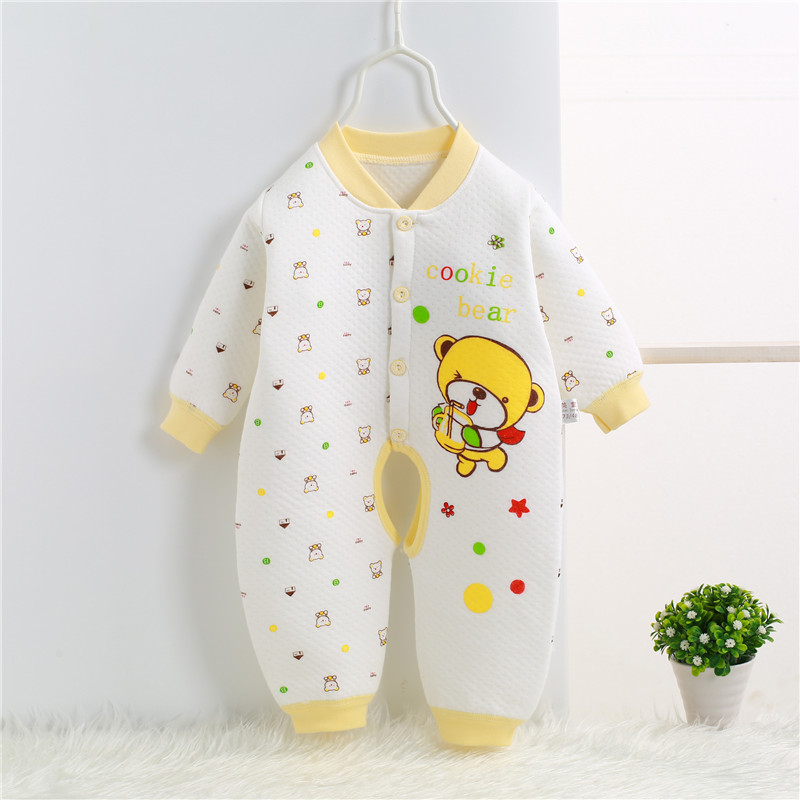 2017 Spring Autumn Newborn Romper cartoon baby girl baby clothing 100% cotton baby boy clothes jumpsuit bebes 0-1 years SKA08 (4)