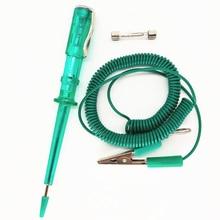 6V 12V 24V Portable Professional Car Vehicle Parts Plain Slot For Electricians Circuit Pen Maintenance Repair Hand Tools Tester