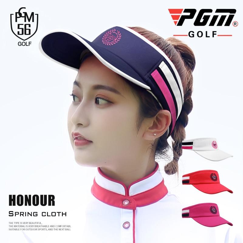 279adff50 US $8.88 40% OFF 1pcs Golf cap hat visor for women Sun Golf Tennis Baseball  Hat Anti ultraviolet Breathable Hat Summer Clothing 4 colors-in Golf Caps  ...