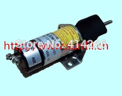 Wholesale Fit for Synchro Start  Electric Fuel Shut-Down Solenoid 1504-24C2U1B1S1,24V 2pc new synchro start switch solenoid fuel shutdown for cummins 3991624 sa4959 12
