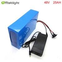 אין מסים DIY סוללה אופניים אלקטרוני bafang 48 v 25ah 48 v 1000 w סוללת ליתיום יון עבור סקייטבורד חשמלי עם מטען וbms