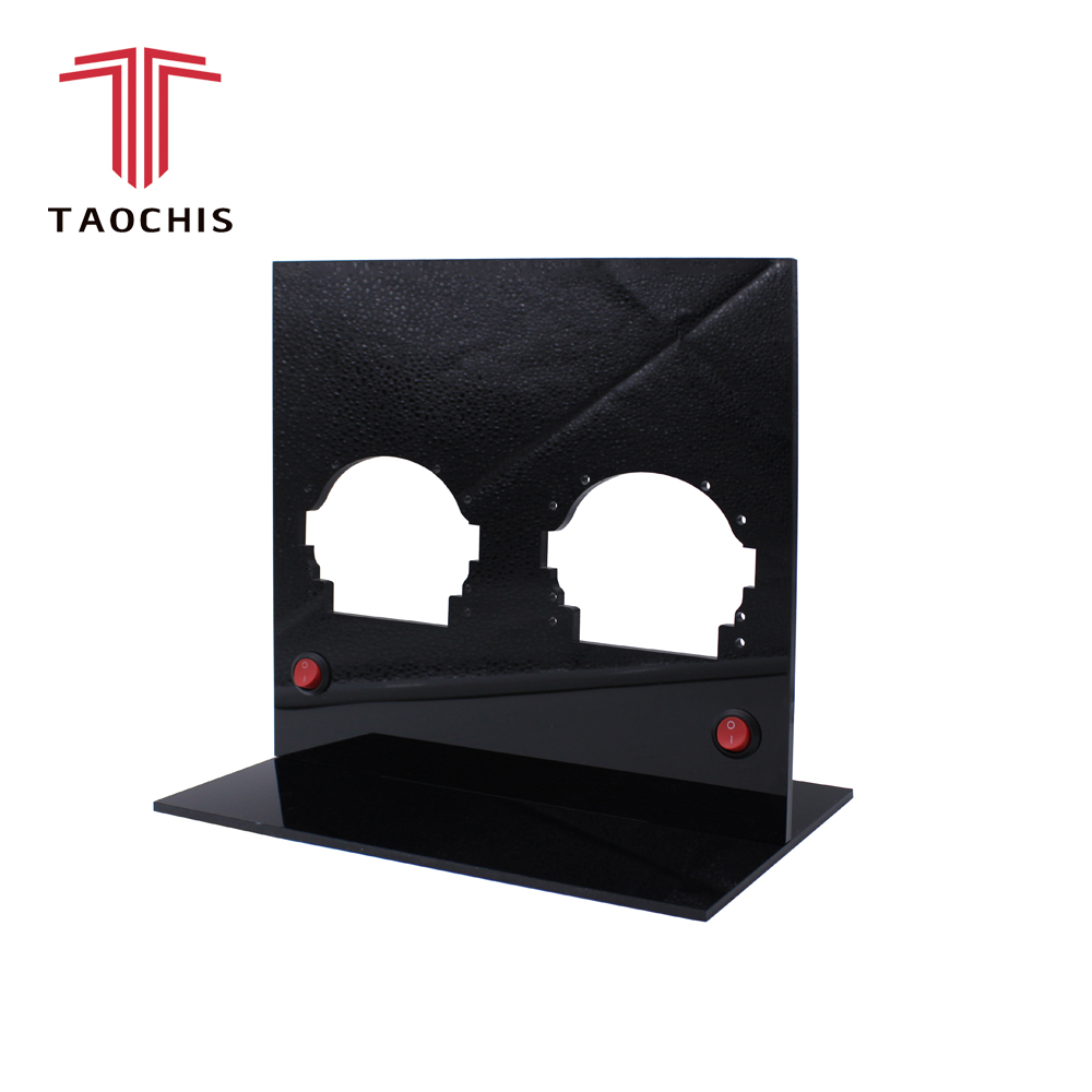 TAOCHIS affichage plateau Pour HELLA 3R G5 KOITO Q5 Bi xenon LED projecteur lentille stand affichage cadre Lampe Titulaire afficher à la clientèle