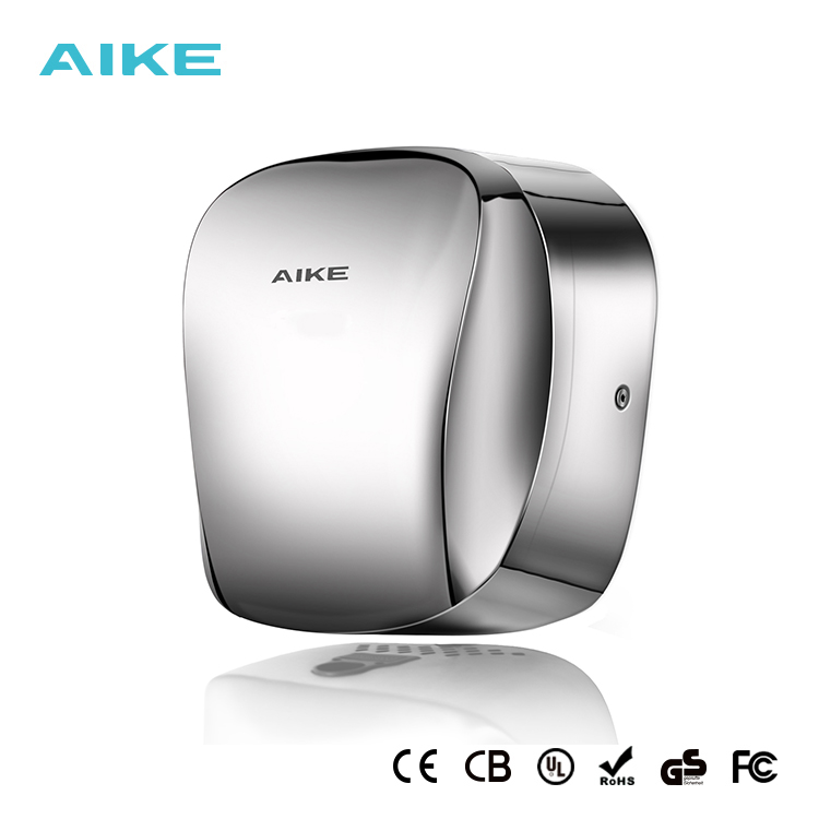 Household Appliances Hand Dryers Aike Electric Stainless Steel High Speed Hand Dryer With Hepa Filter Powerful Airflow Dry Hand Quick Hygiene Machine Ak2903 Delaying Senility