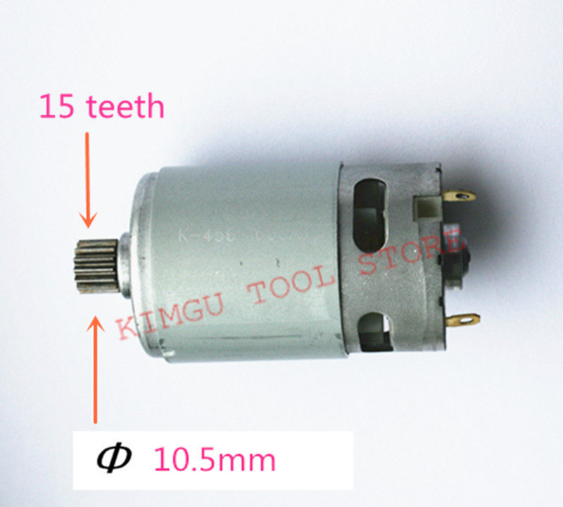 15 Teeth  Motor Replace Parts  Parts Set 10.8V 12V  For HILTI SF 2H-A SF2H-A15 Teeth  Motor Replace Parts  Parts Set 10.8V 12V  For HILTI SF 2H-A SF2H-A