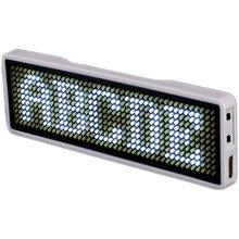 Blueteeth Led Tên Neon Signtag Thẻ Kinh Doanh Màn Hình Kỹ Thuật Số Sạc ID Cho Nhà Hàng Shop Văn Phòng Ứng Dụng Điều Khiển Ban 11*44