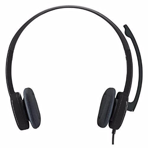 Adaptable Auriculares Estéreo Analógicos H151 De 3,5mm Con Micrófono Boom-negro Jade Blanco