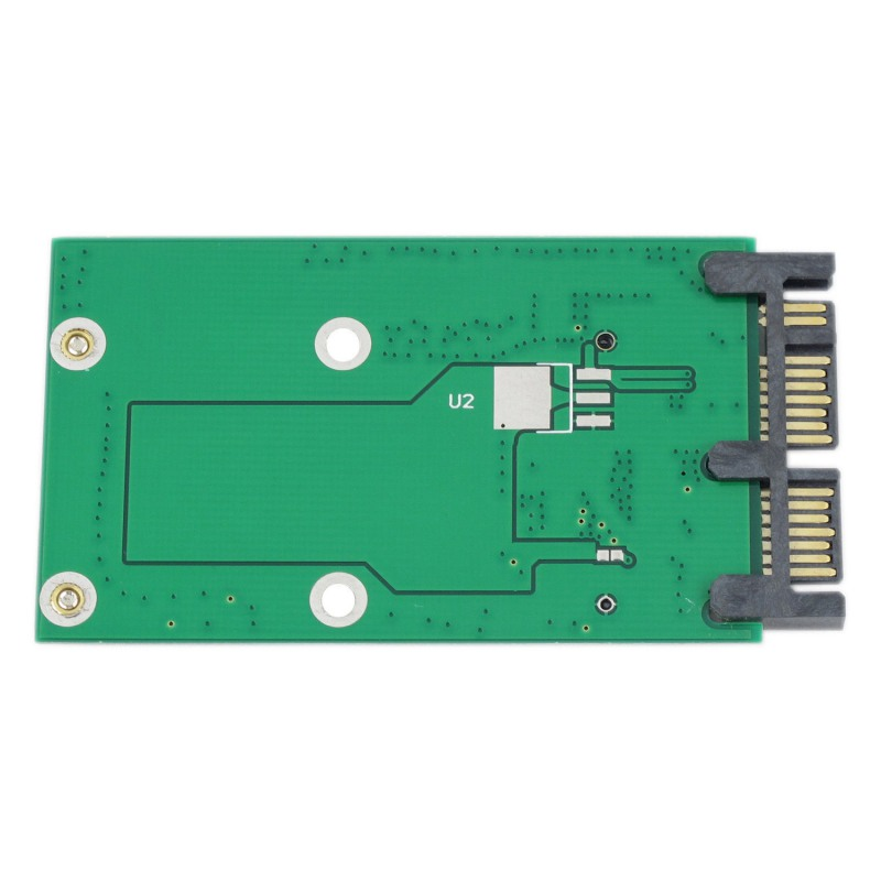 Mini PCIE PCI-e MSATA 3x5cm SSD To 1.8