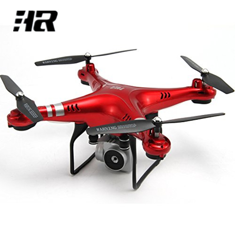 HR SH5 Wifi FPV Live Quadcopter 2MP HD Camera Drone 170 Degree Wide Angle Altitude Hold Hover RC Helicopter Auto-Return Headless jjrc h12wh wifi fpv with 2mp camera headless mode air press altitude hold rc quadcopter rtf 2 4ghz