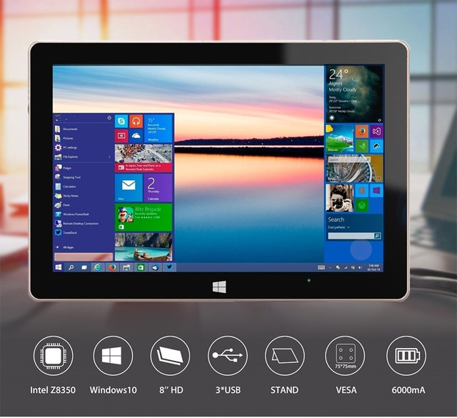 Mesuvida GOLE1 плюс ТВ окно 10 Atom X5-Z8350 4 ядра Мини-ПК Bluetooth 4.0 5 г Wi-Fi media player 4 г 64 г 4 г 128 г