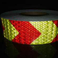 5cmx25m  Reflective Bicycle Stickers Adhesive Tape For Bike Safety Reflective Car Stickers car vehicle safety reflective stickers green size l pair
