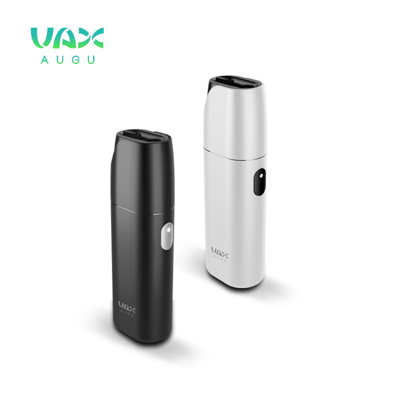 VAX AUGU Electronic Cigarette Box Shape 3000mah Battery Heat Not Burn with display Vape For Heating