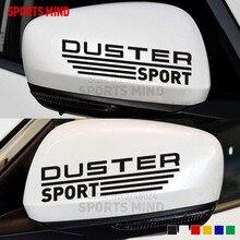1 paio Sport Mente SPOLVERINO Specchietto retrovisore Car Sticker Decal Per Renault duster Dacia duster Stepway accessori esterni