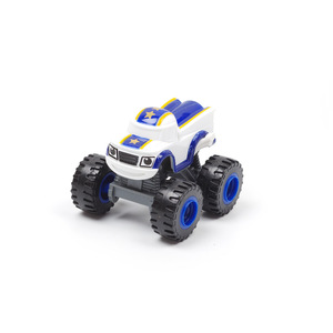 Image 2 - 1pcs Blaze Car toys Russian Crusher Truck Vehicles Figure Blaze Toy blaze the monster machines birthday Gifts For Kids