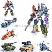 G1 PT05 PT-05 Transformation Bruticus 5IN1 Action Figure Oversize Robot Toys