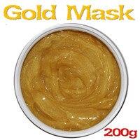 24 k Ageless Ouro Máscara Facial Clareamento Hidratante Anti-rugas Máscara hidratante 200g Produtos de Salão de Beleza
