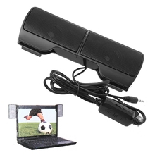 Clip-On-Speaker Stereo Usb-Powered No for Notebook Laptop Dec14 1-Pair Line-Control Mini
