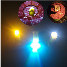 hot deal buy 10pcs/lot led light for paper lantern candles led electronic birthday party wedding event party decoration glow party supplies