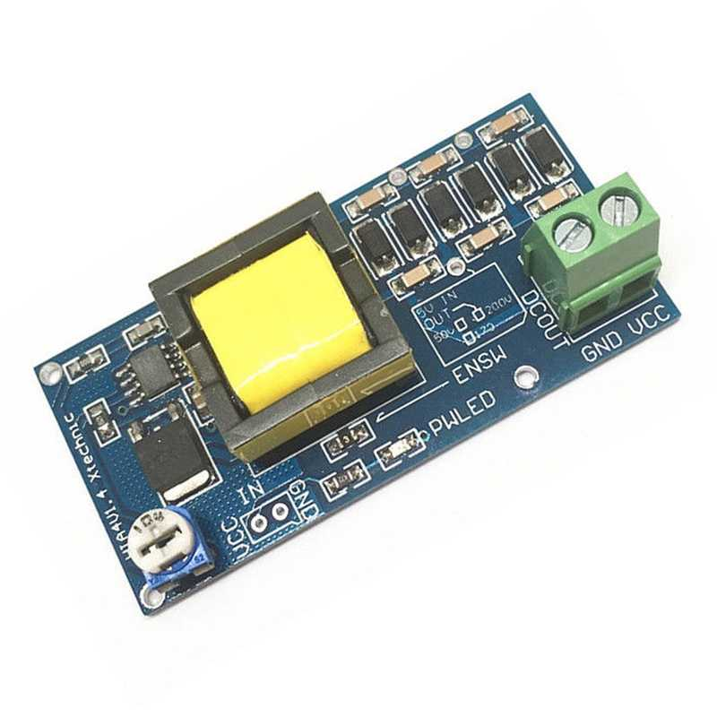 Convertisseur dc-dc Boost 5 V-12 V jusqu'à 300 V-1200 V carte de Module d'alimentation