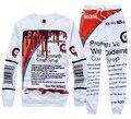 2015 Nueva Actavis jarabe de codeína impreso 3d Harajuku traje de Los Hombres de Las Mujeres casual pantalones + hoodies chándales plus talla M-XXL 2 unidades set