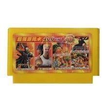 400-in-1 FC Cartão De Jogo Para Nintendo Video Game Cards Para Cartucho Para Computador TV Computador da família Para Double Dragon & Contra