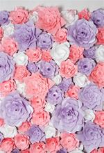Laeacco Photo Backgrounds Wedding Blossom Flower Wall Birthday Party Baby Portrait Photography Backdrops Photocall Photo Studio 10x10ft 3x3m scenic muslin backgrounds photography photo studio backdrops hand painted flower muslin backdrop wedding