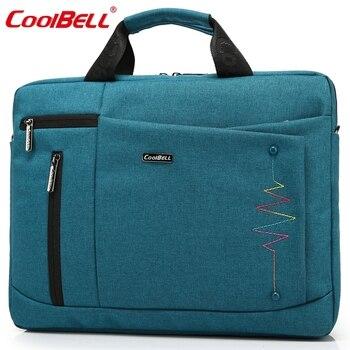 Cool Bell Brand 14.4,15.6 inch Laptop Bag Men Women Notebook Bag Waterproof Computer Bag Laptop Briefcase Shoulder Messenger Bag laptop bag