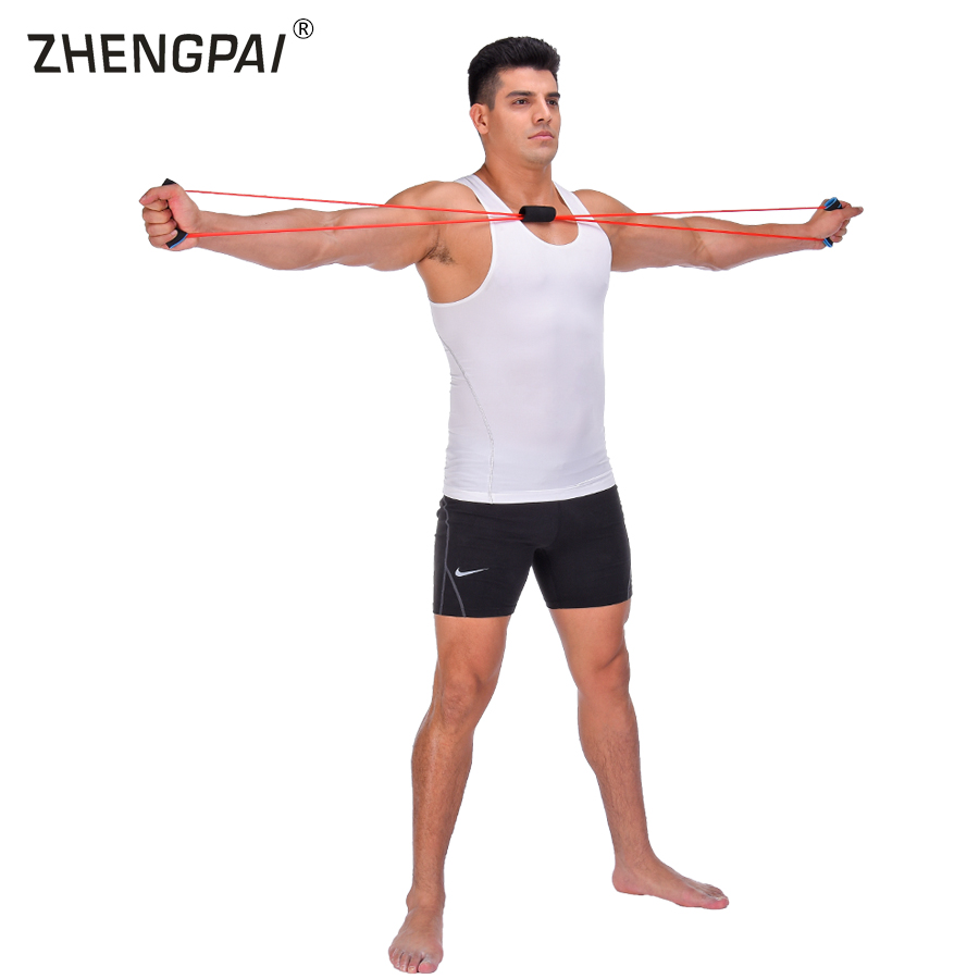 Workout Bands That Don T Roll: Aliexpress.com : Buy ZHENGPAI 8 Word Rubber Band Home
