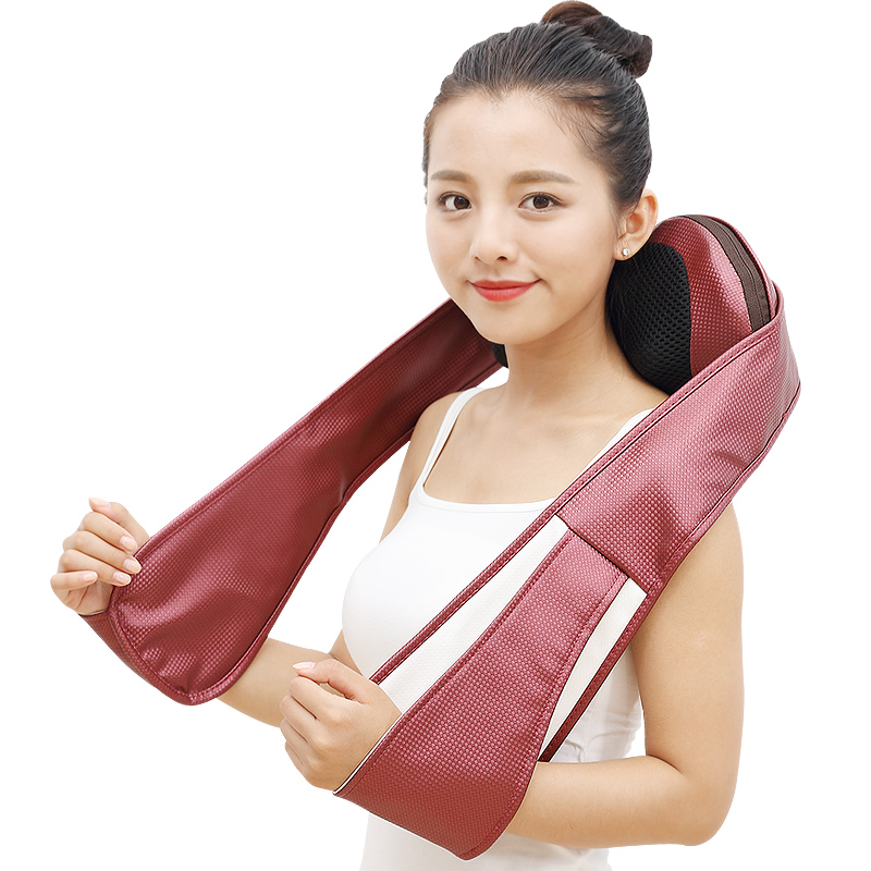 Shoulder Neck Back Waist Massage Instrument Pillow Cushion Pad Electric Full Body Infrared Kneading Massager Shawl RelaxationShoulder Neck Back Waist Massage Instrument Pillow Cushion Pad Electric Full Body Infrared Kneading Massager Shawl Relaxation