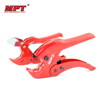 MPT 42mm PVC PE Pipe Plumbing Tube Plastic Hose Cutter Pliers Tool Ratcheting Type Home Decor