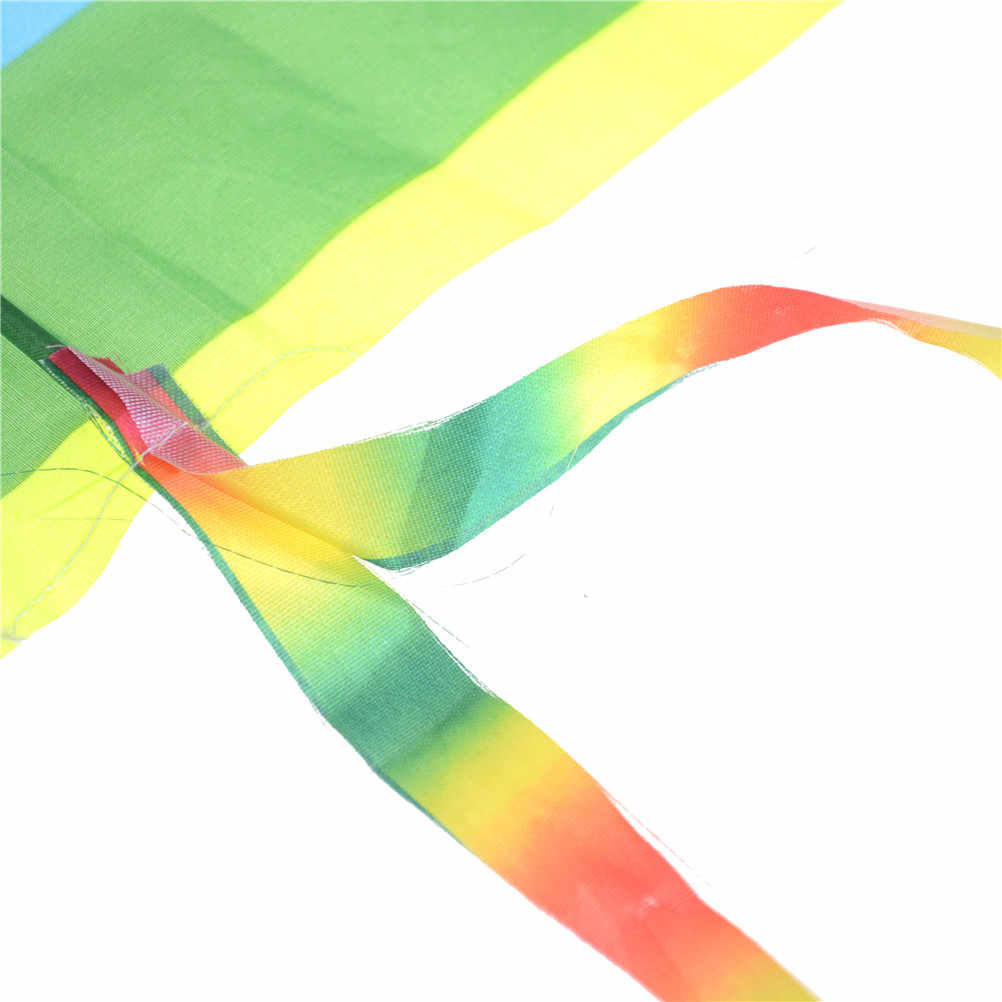 Радуга кайт длинный хвост нейлон змеи трюк кайт Surf без Управление открытый игрушки для Для детей бар и линия детские игрушки