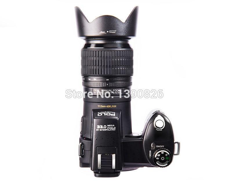 D7200 caméra vidéo numérique 33 millions de pixels caméra numérique professionnelle 24X caméra zoom optique plus lampe frontale à LED gratuit - 2