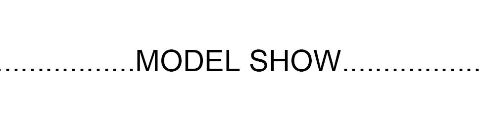 模特展示1