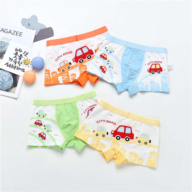 New Store Promotion 1pcs Briefs For Boys Underwears Panties Infant Boxer Cotton  For 2-10 Y