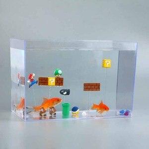 Image 4 - 63 Uds., Super Mario Bros 3D Imanes de frigorífico etiqueta para mensaje, Juguetes Divertidos para niñas, niños, estudiantes, regalo de cumpleaños