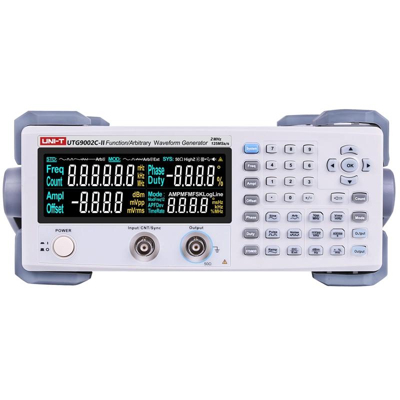 UNI T UTG9002C II Signal Generator Frequency Range 0 2Hz 2MHz AC 220V Power Digital Function