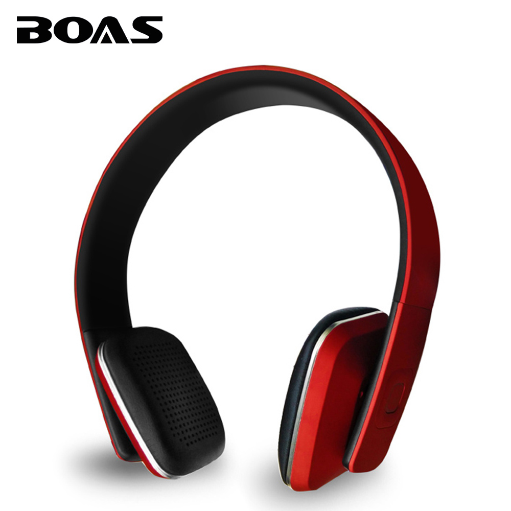 BOAS Bluetooth 4.1 headphones wireless Stereo earphone headset handsfree AUX music with MIC for iphone xiaomi PC Notebook girls boas wireless bluetooth earphone hands free earbud earpiece car charger usb headsets with mic 2 in 1 headset for iphone xiaomi