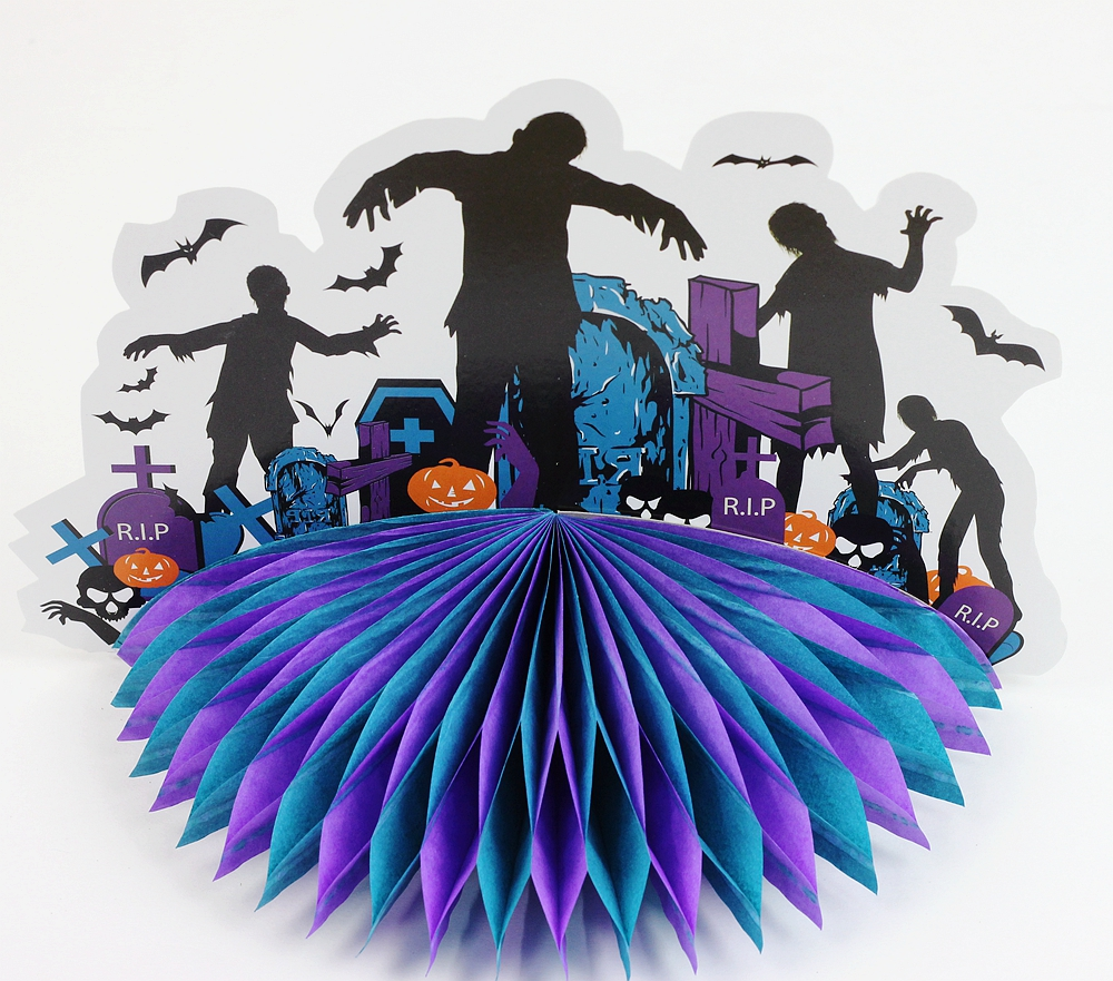 3D Zombie Centerpiece Zombie Table Decorations Haunted House Haunted Castle Centerpiece Spooky House Halloween Centerpiece Decor in Party DIY Decorations from Home Garden
