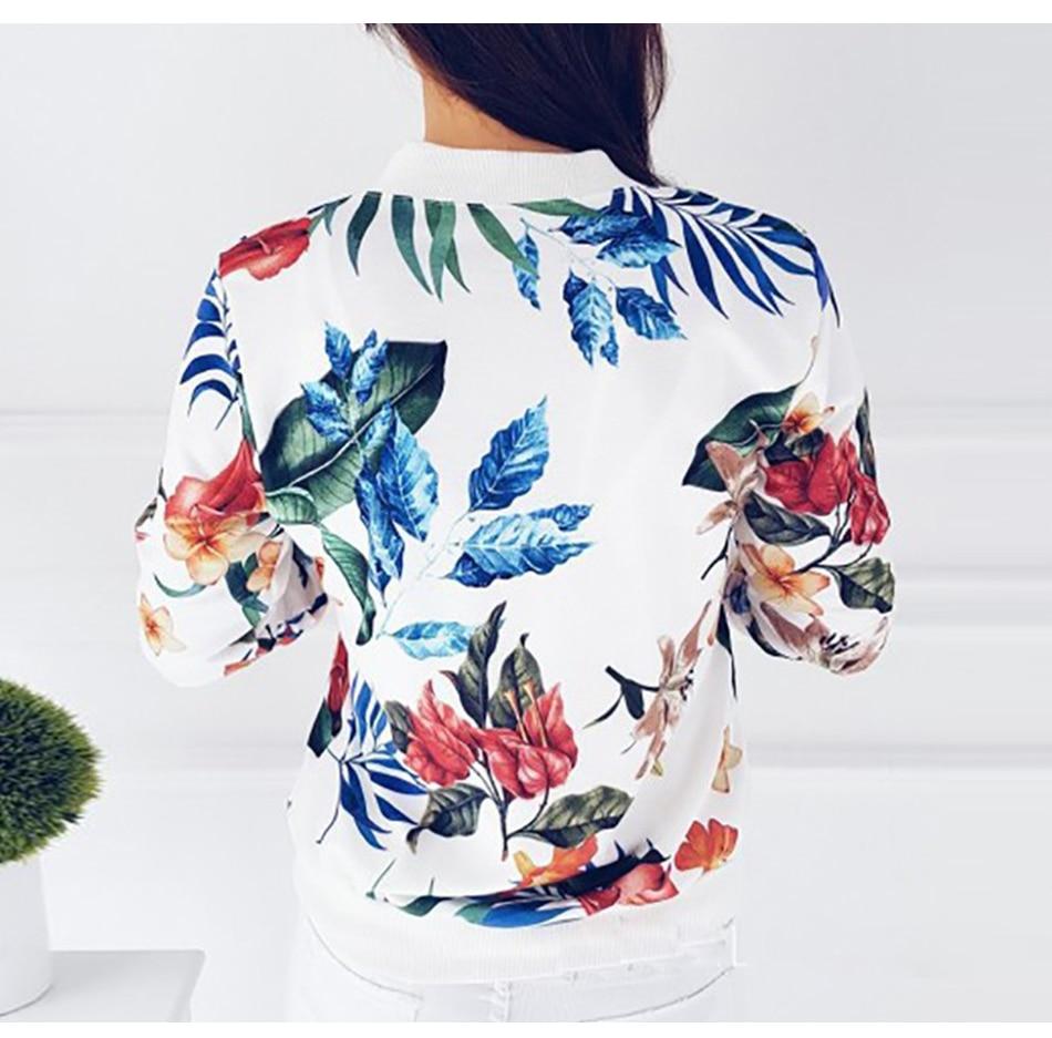 Blouse Women Flowers Retro Coat Spring 2019