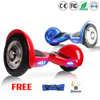 Electric Power Scooter Hoverboard 10 Electric Steering Wheel Smart Balance Trike Drift Wheels Monowheel