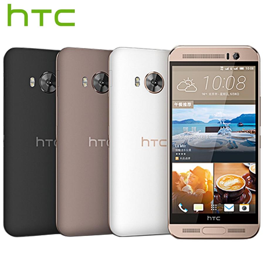 Brand New HTC Un MOI M9ew Double SIM 4g LTE Mobile Téléphone 5.2 pouce Octa Core 3 gb RAM 32 gb ROM 2560x1440 p 20MP Android téléphone Intelligent