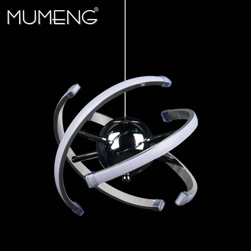Mumeng светодиодный подвесной светильник 23 Вт, современная акриловая кухонная лампа 85-265 в, подвесной светильник для столовой, Регулируемый стильный роскошный светильник