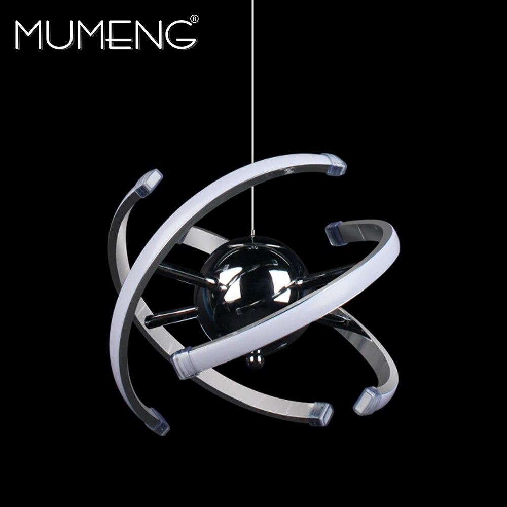 Mumeng LED Boule Pendentif Lumière 23 w Moderne Acrylique cuisine Lampe 85-265 v Salle À Manger Suspendus Éclairage Réglable style Luxture