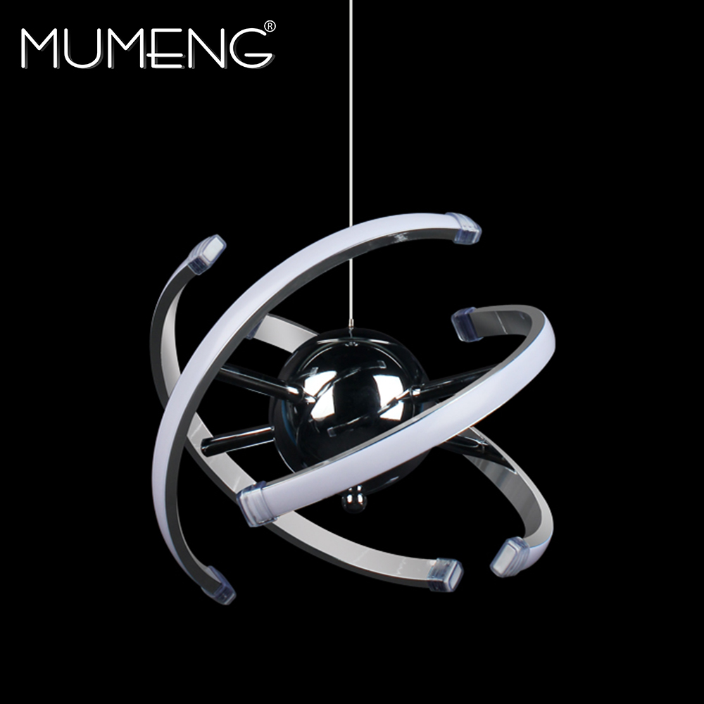 mumeng LED Ball Pendant Light 23W Modern Acrylic kitchen Lamp 85-265V Dining Room Hanging Lighting Adjustable Style Luxture modern led pendant lamps for dinning room acrylic round circle hanging lamp 85 265v led dining room kitchen pendant light
