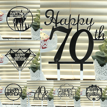 Party Decoration Event & Item Type and Valentines Day Occasion Happy Birthday Cake Topper