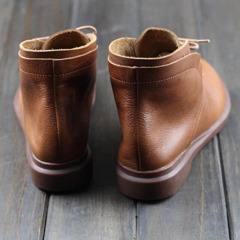 SNURULAN thời trang 2017 Genuine leather phụ nữ martin khởi động mùa đông ấm áp giày botas feminina nữ xe máy ankle boots phụ nữ