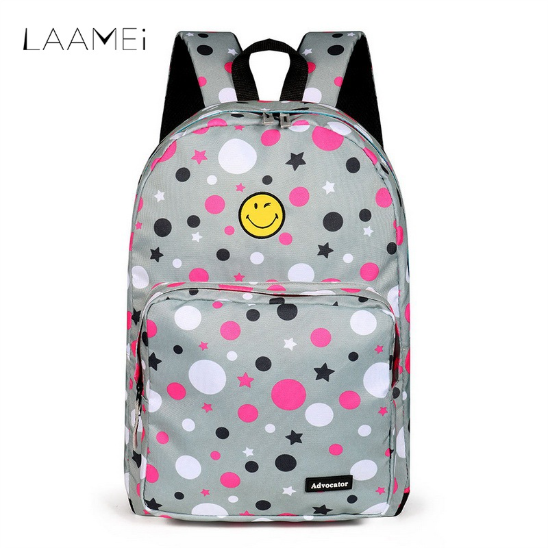 Laamei Travel Backpack Boys Girls Fashion Cartoon Pattern Children Schoolbags Large Capacity Backbags Satchel Mochila Feminina